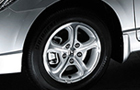 Honda Civic Wheel & Tyre Picture