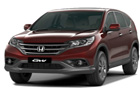 Honda CRV in Green Color
