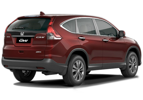 Honda CR-V Rear Angle View Exterior Picture