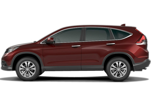 Honda CR-V Front Angle Side View Exterior Picture
