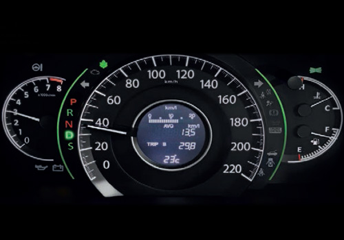 Honda CR-V Tachometer Interior Picture