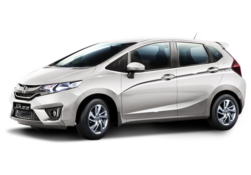 Honda Jazz Front Angle High View Picture