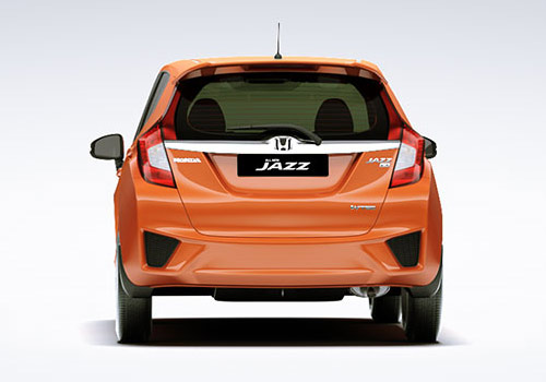 Honda Jazz Rear View Exterior Picture