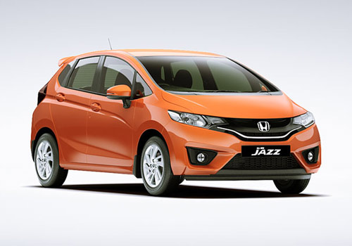 Honda Jazz Front Side View Exterior Picture