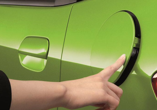 Honda Jazz fuel-lid opener picture