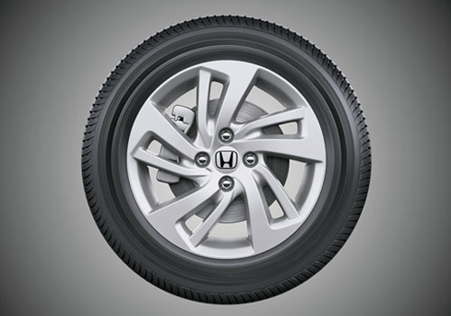 Honda Jazz Wheel and Tyre Picture