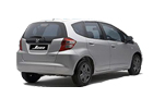 Honda Jazz Rear Angle View Picture