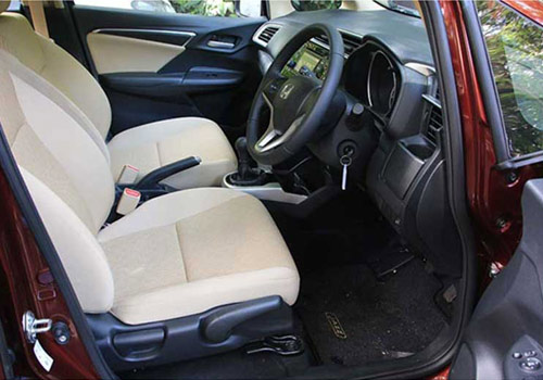 Honda Jazz Driver Side Door Open Interior Picture