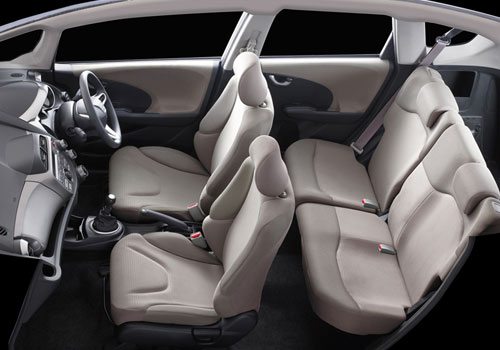 Honda  Jazz Front and Rear Seat Picture