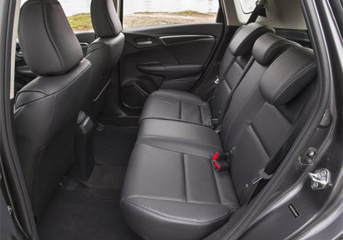Honda Jazz Rear Seats Interior Picture