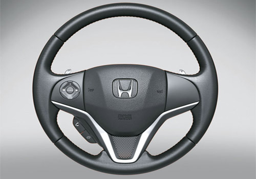 Honda Jazz Steering Wheel Interior Picture