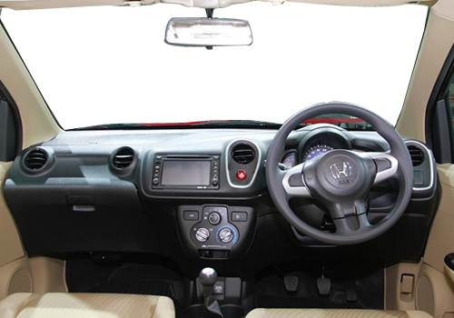 Honda Mobilio Central Control Interior Picture