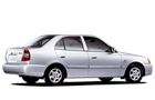 Hyundai Accent in Silver Color