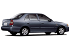 Hyundai Accent in Grey Color