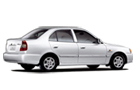 Hyundai Accent in White Color