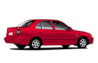Hyundai Accent in Red Color
