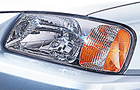 Hyundai Accent Head Light Picture