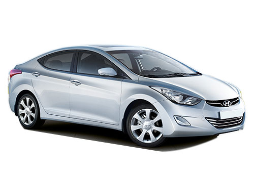 Hyundai Avante Front Side View Exterior Picture