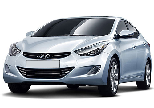 Hyundai Avante Front High Angle View Exterior Picture