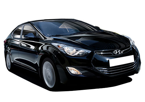 Hyundai Avante Front Low Angle View Exterior Picture