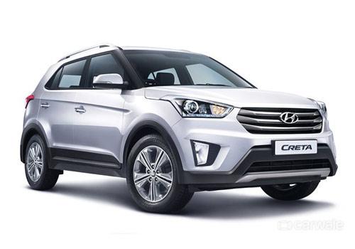 Hyundai Creta Front View PIcture
