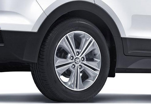 Hyundai CRETA Wheel and Tyre Picture