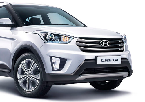 Hyundai CRETA Front Low Angle View Picture