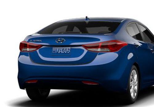 Hyundai Elantra Rear View Exterior Picture