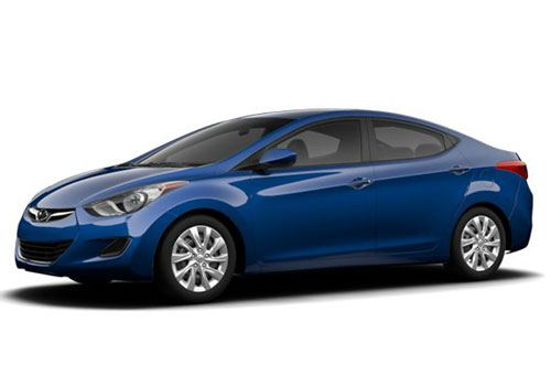 Hyundai Elantra Front Side View Exterior Picture