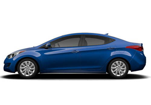 Hyundai Elantra Front Angle Side View Exterior Picture