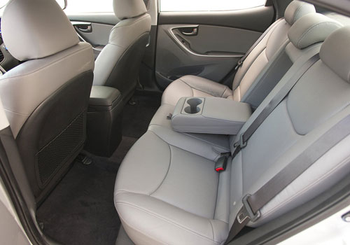 Hyundai Elantra Rear Seats Interior Picture