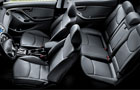 Hyundai Elantra Front and Rear Seats Pictures