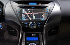 Hyundai Elantra Front AC Controls Picture