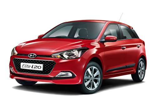 Hyundai Elite i20 Front Angle View Picture