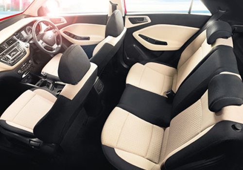 Hyundai Elite i20 Rear Seat Picture