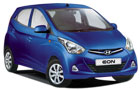 Hyundai Eon in Blue Color