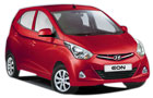 Hyundai Eon in Red Color