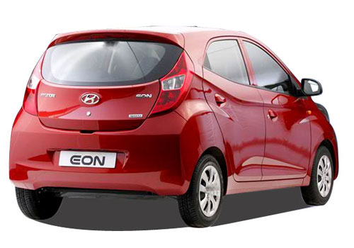 Hyundai Eon Rear Angle View Exterior Picture