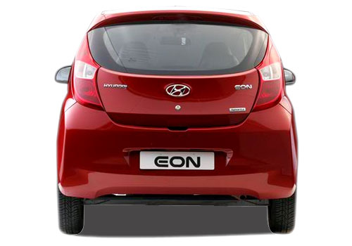 Hyundai Eon Rear View Picture