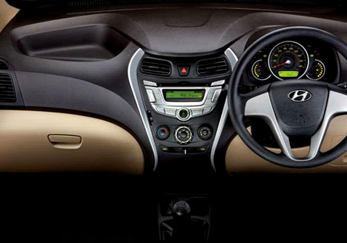 Hyundai Eon Dashboard Interior Picture