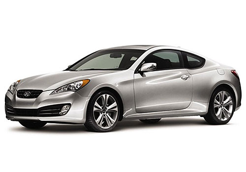 Hyundai Genesis Front Angle View Exterior Picture