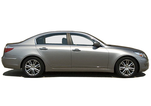 Hyundai Genesis Side Medium View Exterior Picture