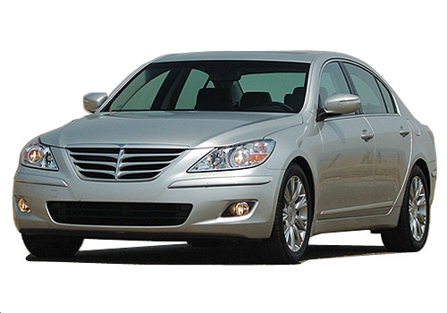 Hyundai Genesis Front High Angle View Exterior Picture
