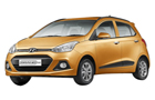Hyundai Grand i10 in Golden Orange Color