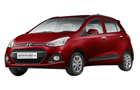 Hyundai Grand i10 in Wine Red Color
