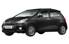 Hyundai Grand i10 in Phantom Black Color