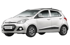 Hyundai Grand i10 in Pure White Color
