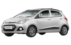 Hyundai Grand i10 in Sleek Silver Color