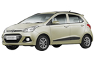 Hyundai Grand i10 in Silky Beige Color