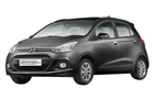 Hyundai Grand i10 in Star Dust Color